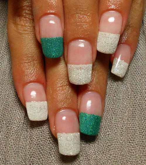 French Nail Art 14 Indian Makeup And Beauty Blog Beauty Tips