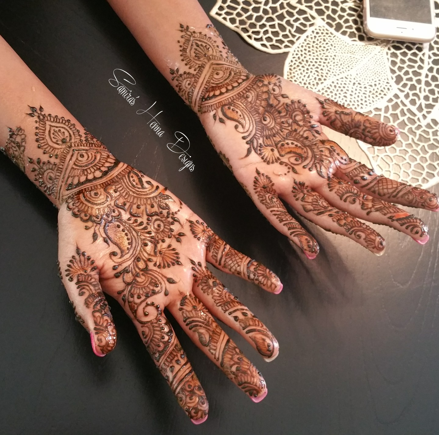 Mehndi Henna Care : Outstanding mehndi designs by samira ali indian makeup