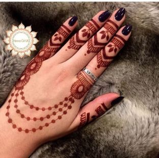 Arabic mehandi designs 19