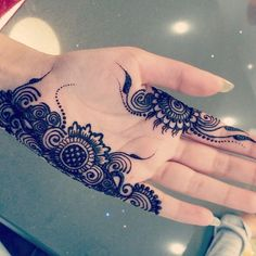 Arabic mehandi designs 20