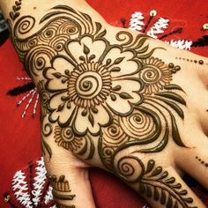 Arabic mehandi designs 21