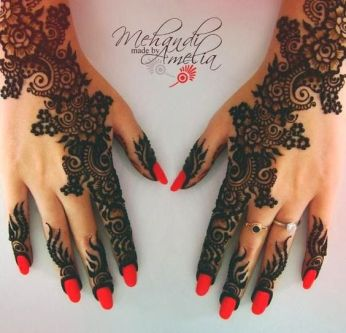 Arabic mehandi designs 23