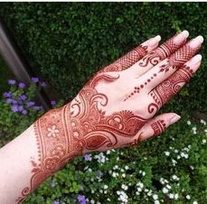 Arabic mehandi designs 24