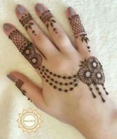 Arabic mehandi designs 28