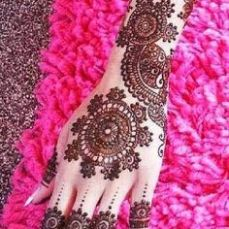 Arabic mehandi designs 29