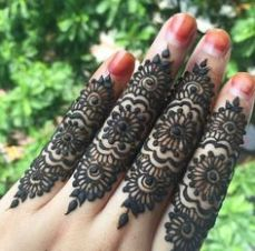Arabic mehandi designs 30