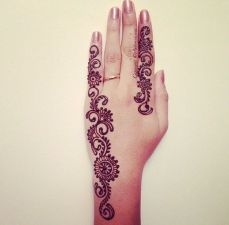 Arabic mehandi designs 31