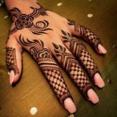 Arabic mehandi designs 32