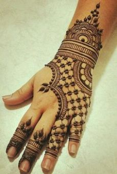 Arabic mehandi designs 33