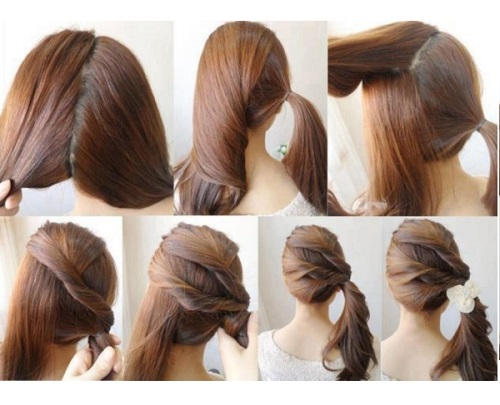 10 Chic Ponytail Hairstyles For Long Hair Indian Makeup And Beauty