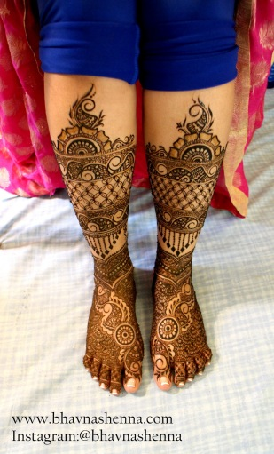 Mehndi designs by Bhavna Naik 05
