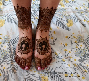 Mehndi designs by Bhavna Naik 06