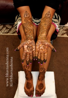 Mehndi designs by Bhavna Naik 08