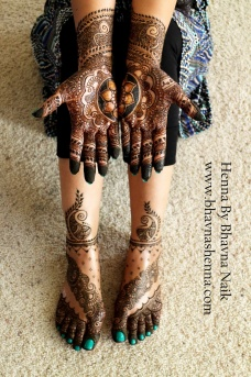 Mehndi designs by Bhavna Naik 09