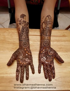 Mehndi designs by Bhavna Naik 12