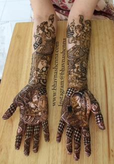Mehndi designs by Bhavna Naik 13