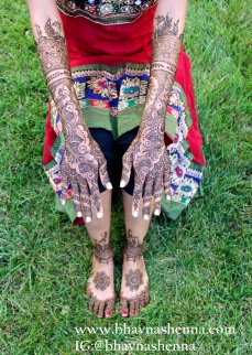Mehndi designs by Bhavna Naik 14