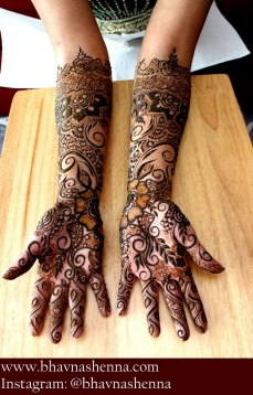 Mehndi designs by Bhavna Naik 16