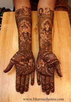 Mehndi designs by Bhavna Naik 17