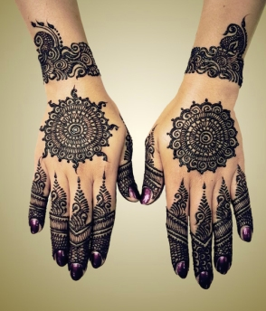 mehndi designs by Mujahid Hussain 01