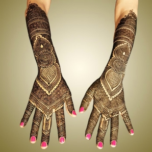 mehndi designs by Mujahid Hussain 02