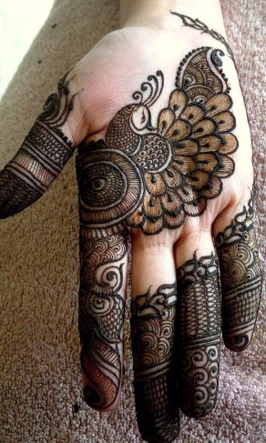 mehndi designs by Mujahid Hussain 03