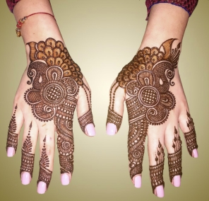 mehndi designs by Mujahid Hussain 04