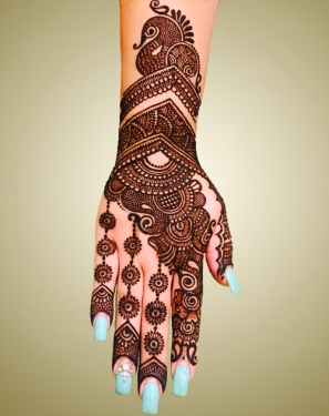 mehndi designs by Mujahid Hussain 05