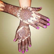 mehndi designs by Mujahid Hussain 08