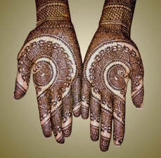 mehndi designs by Mujahid Hussain 09