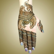 mehndi designs by Mujahid Hussain 10