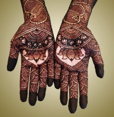 mehndi designs by Mujahid Hussain 12