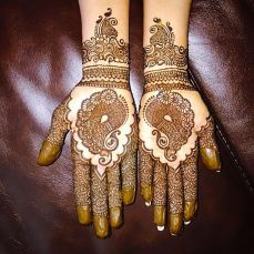 mehndi designs by Mujahid Hussain 26