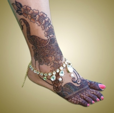mehndi designs by Mujahid Hussain 27