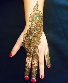 mehndi designs by Mujahid Hussain 30