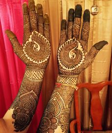 mehndi designs by Mujahid Hussain 31