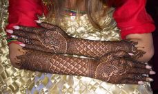 mehndi designs by Mujahid Hussain 33