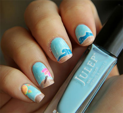 22 Stunning Nail Art Designs For The Perfect Beach Vacation Indian