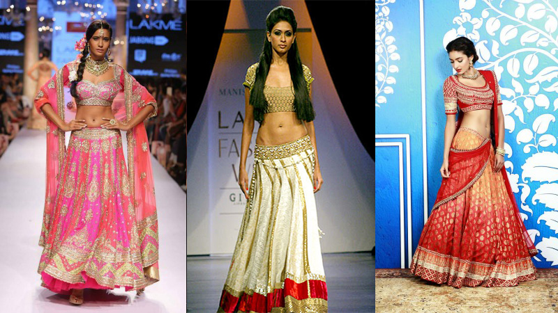 f6087483775 10 Simple and best bridal lehengas for summer weddings