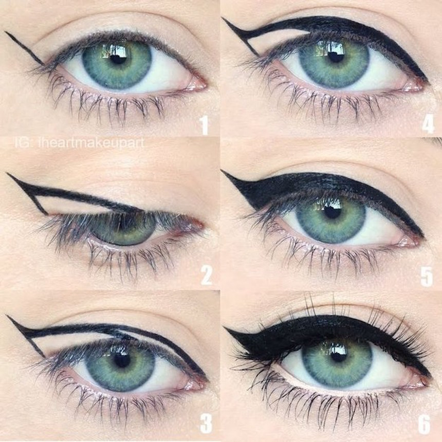 How To Get Perfect Winged Eyeliner Everytime