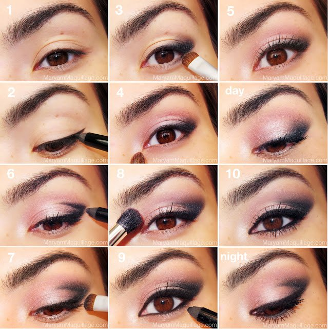 Different Makeup Looks For Eyes 02 Indian Makeup And Beauty Blog