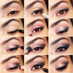 Different makeup looks for eyes 02