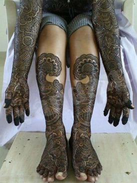 Mehndi designs by Vandana Makkar 05