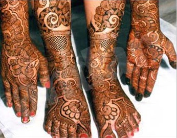 Mehndi designs by Vandana Makkar 06