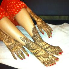 Mehndi designs by Vandana Makkar 10