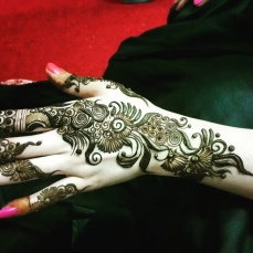 Mehndi designs by Vandana Makkar 12