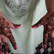 Mehndi designs by Vandana Makkar 14
