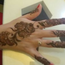 Mehndi designs by Vandana Makkar 15