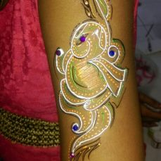 Mehndi designs by Vandana Makkar 17