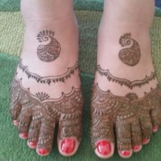 Mehndi designs by Vandana Makkar 19